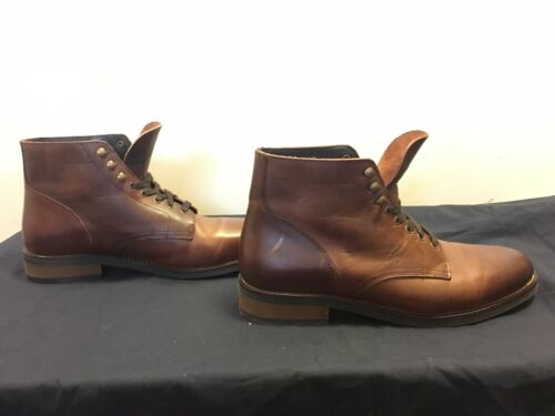 mens leather dress boots 11