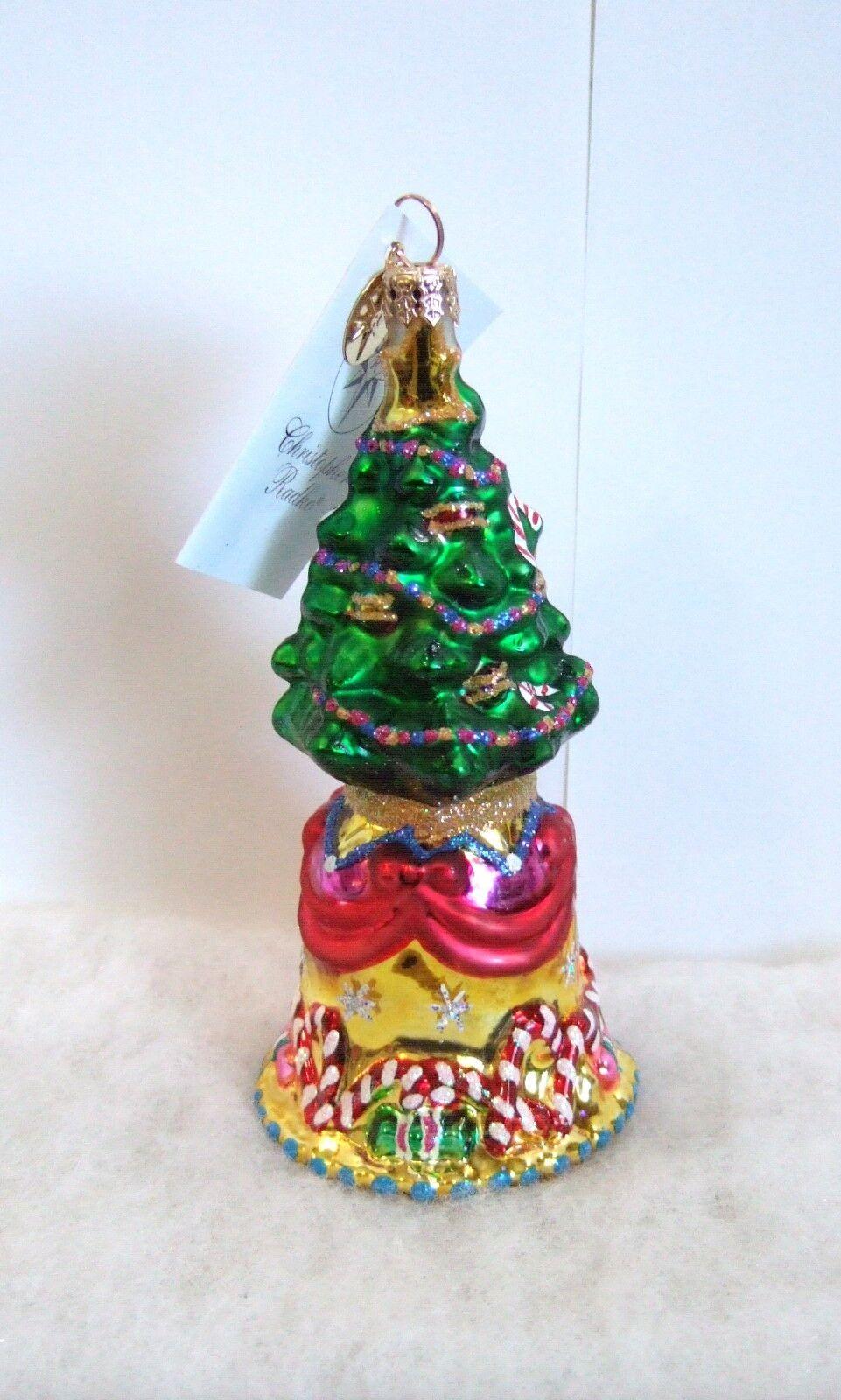 Christopher Figurine OrneHommes t 0106860 Carillon Trésors 0106860 t Cloche Tree Nwt / Scellé 241249