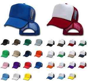 100 DECKY VINTAGE NEW TRUCKER HAT HATS CAP CAPS SNAPBACK WHOLESALE ... 6062d4731f2