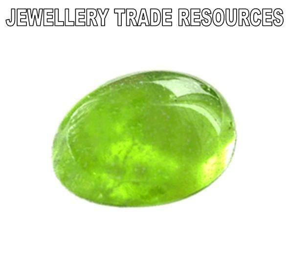 6.5mm x 4.5mm Oval Cut Natural Green Peridot Gem Gemstone