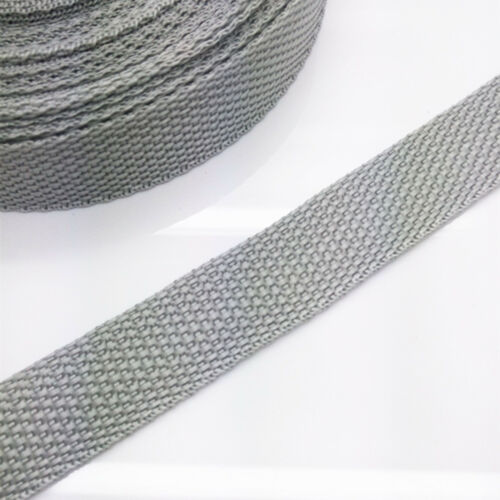 DIY 2//5//10Yards Length 20mm 3//4 inch Wide Strap Nylon Webbing Strapping Pick