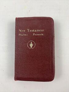 VINTAGE-THE-NEW-TESTAMENT-POCKET-BIBLE-1966-EDITION
