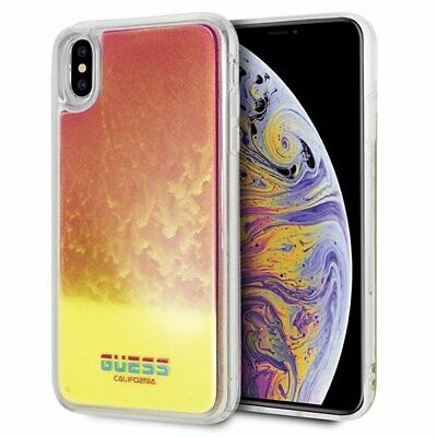 Genuine Guess California Glow in the Dark Case for Apple iPhone XS & X | eBay