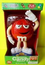 M&M M&M's Character Candy Dispenser Rot Weihnachten Nikolaus Santa