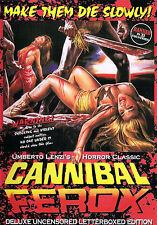 CANNIBAL FEROX Umberto Lenzi RARE Sealed MAKE THEM DIE SLOWLY + Poster HOLOCAUST