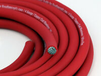 Knukonceptz Kca Red Ultra Flex True Awg 4 Gauge Power Wire Cable - 50'