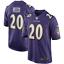 Herren NFL Ed Reed #20 Baltimore Ravens American Fußball Trikot Jersey Stitched