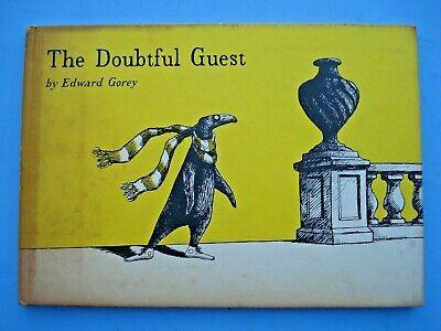 1958 The Doubtful Guest By Edward Gorey Putnam U K 1st Ebay