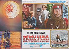 FOTOBUSTA 4, DERSU UZALA, AKIRA KUROSAWA, MUNZUK, URSS, JAPAN, POSTER AFFICHE