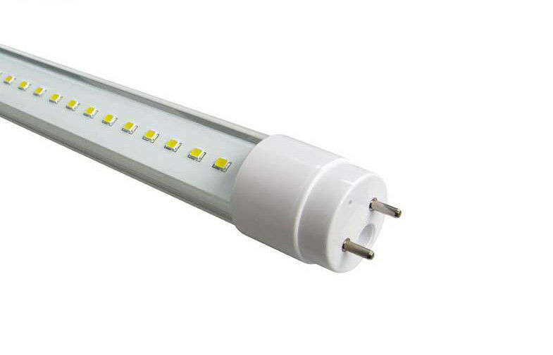 10x 4FT LED TUBE LIGHT 18W T-8 100-277v FLUORESCENT TUBE REPLACEMENT CLEAR