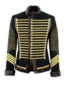 Hussar-Jimi-Hendrix-Inspired-Parade-Jacket-Military-Drummer-Jacket-With-Braiding