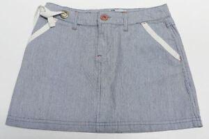 bf1748c9eef Jupe bleu jean ROXY pour FILLE taille 10 ans NEUF azul falda blue ...
