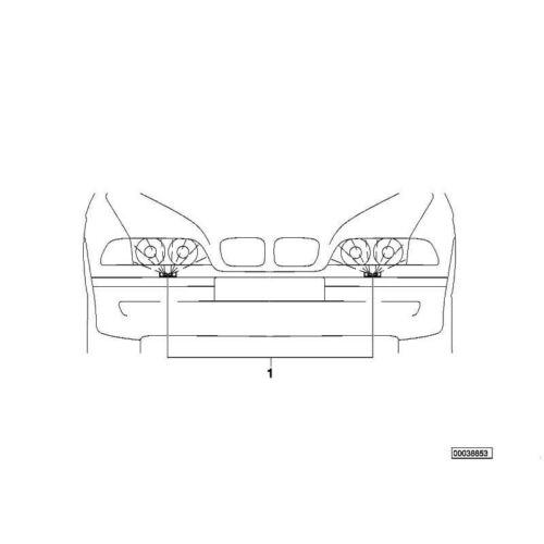 Schlauchleitung 5er Original BMW 61668360664