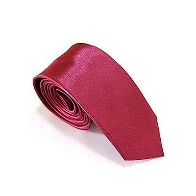 New School Boys Kids Children Wedding Solid Colour Elastic Tie Necktie 30+colour