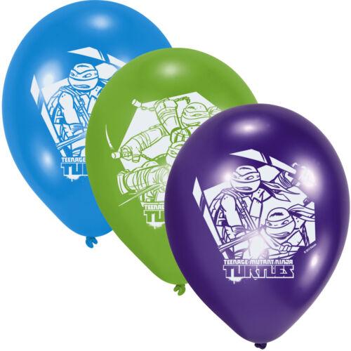 * NINJA turtles tout pour enfants Anniversaire-Fête d/'anniversaire set déco slogan