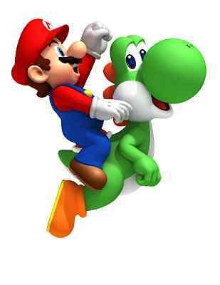 "Super Mario LUGI SKATEBOARD Vinyl Sticker Decal 18/"""