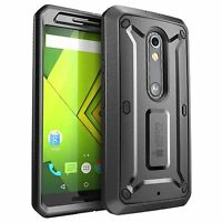 Motorola Moto X Play Case Droid Maxx 2 Screen Protector Belt Clip Holster Cover