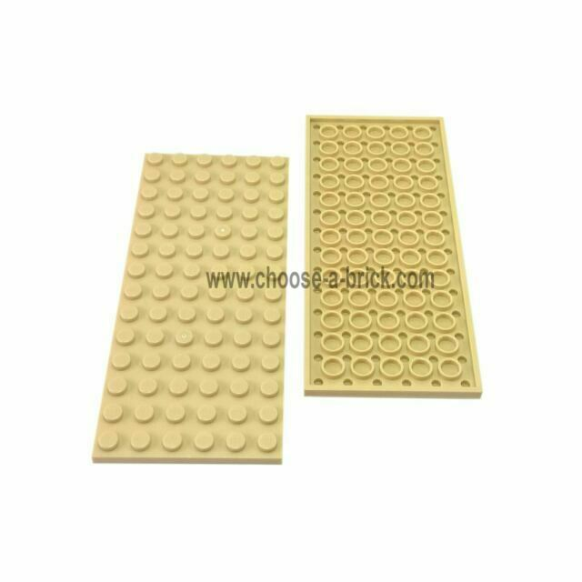 LEGO Dark Bluish Gray 6x14 Flat Building Plate Part