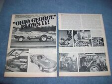 Ohio George Montgomery 1969 Ford Mustang Twin Turbo Funny Car Vintage Article