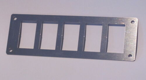 5 Rocker Switch Panel Stainless Steel Narva Fits ARB Carling