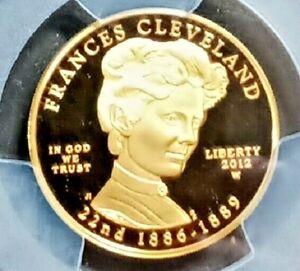 2012-W Frances Cleveland Spouse Gold PCGS PR70 DCAM  1st  First