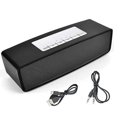 bluetooth lautsprecher wireless soundbar tragbarer speaker mini musikbox usb tf ebay. Black Bedroom Furniture Sets. Home Design Ideas