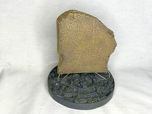 Details about The Flood Tablet XI, Epic of Gilgamesh, Noah's Ark, Genesis  with Free Book