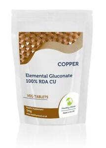 Copper-1mg-x500-Tablets-Letter-Post-Box-SizeElemental-Gluconate-CU-100-RDA