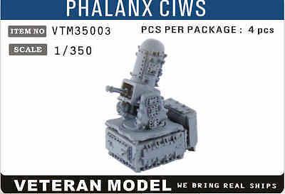 VETERAN 1/350 VTM-35003 PHALANX CIWS (4 pcs in Box)