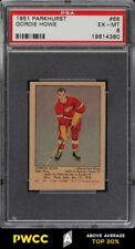 1951 Parkhurst Gordie Howe ROOKIE RC #66 PSA 6 EXMT (PWCC-A)