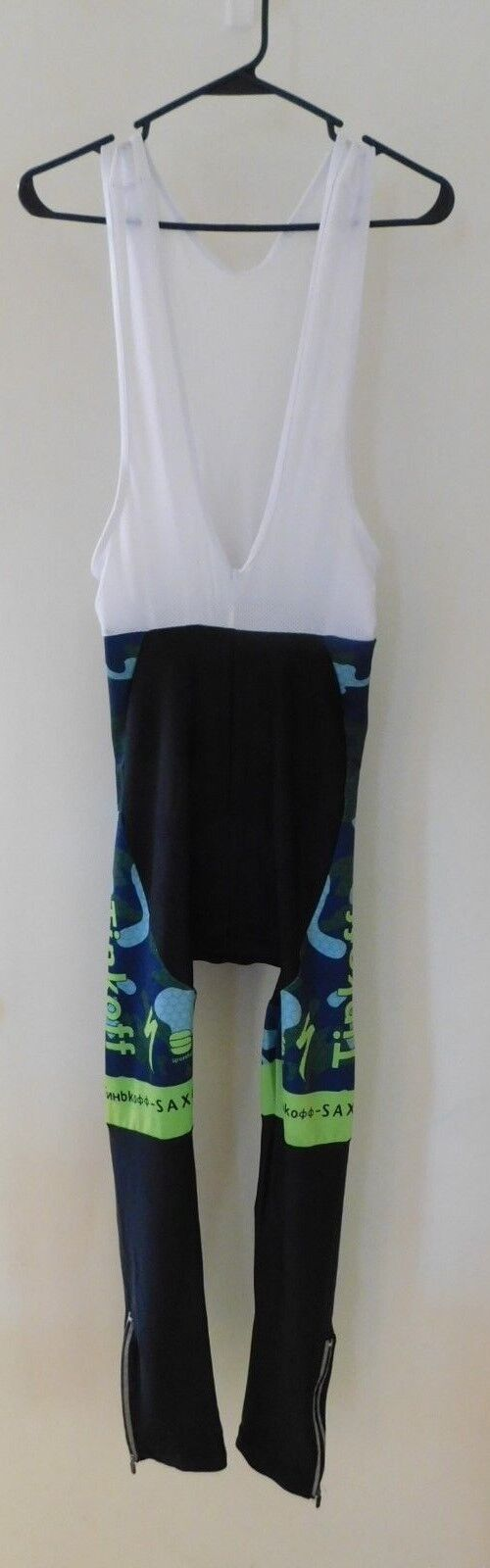 Tinkoff Winter Cycling Pant in bluees and Greens size Large Pant only