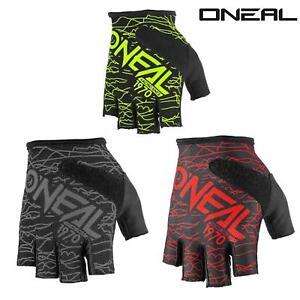 Oneal-Wired-gel-brevemente-dedos-Guantes-de-bicicleta-enduro-mountainbike-viajes-MTB