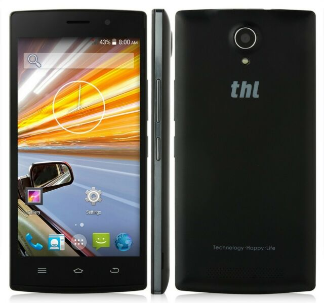 THL L969 4G Android KitKat 4 Core Ecran 5 pouces 1 GB RAM 8 GB ROM + 2 batteries