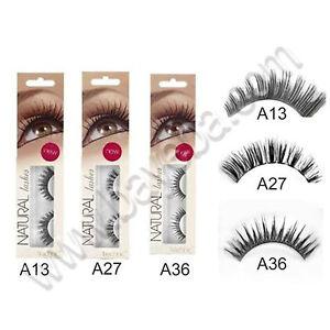 Technic-Natural-Lashes-False-Fake-Eye-Eyelashes-with-Adhesive-Glue