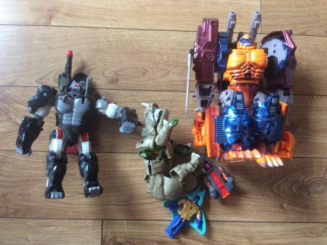 beast wars transformers optimus primal optimal transmetals lot Vintage Toy 90s