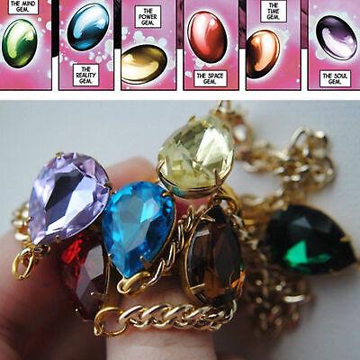 Marvel Legends THANOS Infinity War Gauntlet Handchain Bracelet Ring Cosplay