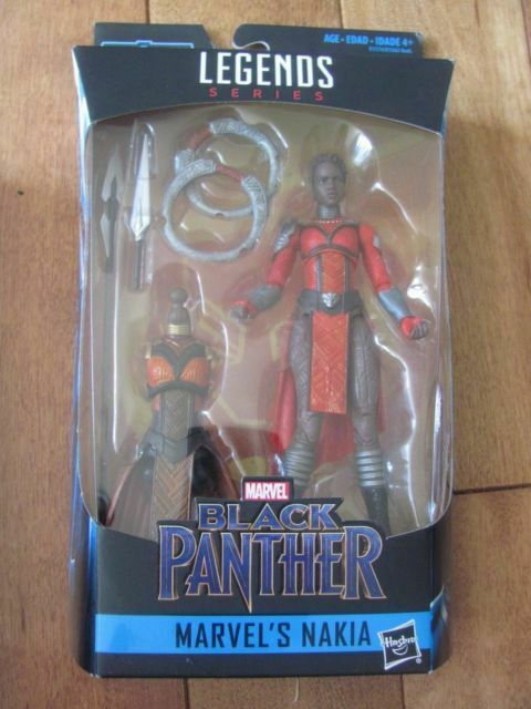 6-inch Hasbro E1574 Marvel Black Panther Legends Series Nakia