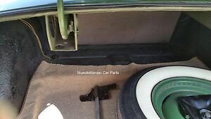 1952-1954-Hudson-Convertible-TRUNK-MAT-TanTweed-Mat-on-Tar-Felt-52-53-54