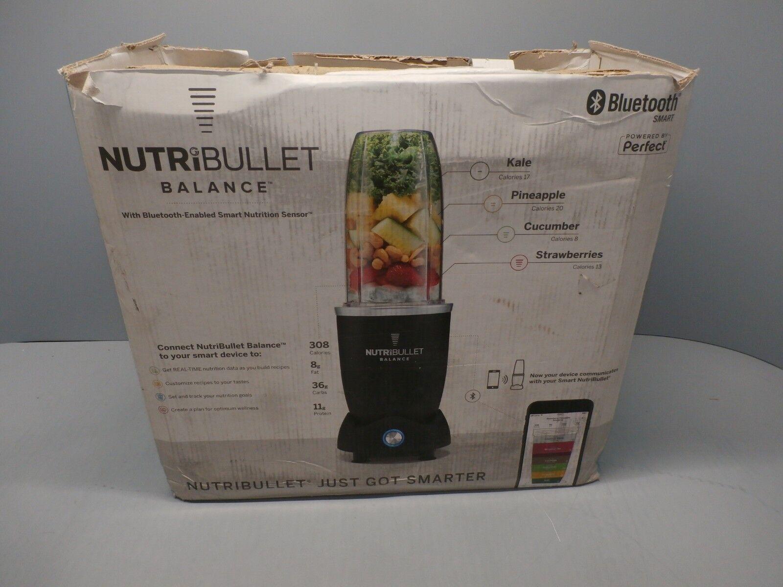 Nouveau Solde NutriBullet avec bleutooth Smart Nutrition Capteur