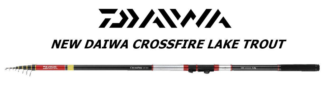 Nuovo Daiwa Crossfire Lake Trout mt4,20 L 2-12gr SPECIALE TROTA LAGO