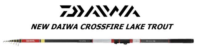New Daiwa Crossfire Lake Trout mt4,00 ML 3-15gr SPECIALE TROTA LAGO