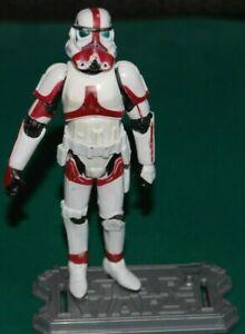 "Star Wars 30th Anniversary 3.75/"" Incinerator Stormtrooper Figure Hasbro 2005"
