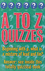 Categorically Quizzes: A-Z Quizzes: A-Z's Quizzes by Christopher Rigby (Paperback, 2002)