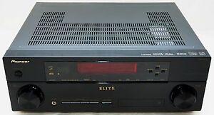 pioneer elite vsx 30 home theater receiver 7 1 channel av 3d hdmi rh ebay com pioneer elite vsx-30 manual Pioneer Elite Remote