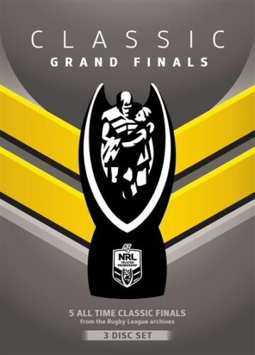 1 of 1 - NRL - Classic Grand Finals (DVD, 2013, 3-Disc Set)-REGION 4--Free postage