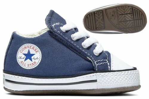 Converse Chuck Taylor First Star Cribster  Baby Schuhe navy