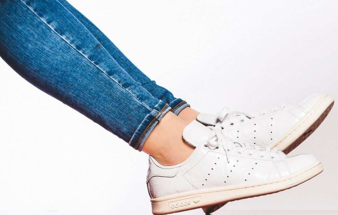 NEW BB5162 femmes &039;s-ADIDAS-STAN SMITH Glossy blanc  Chaussures