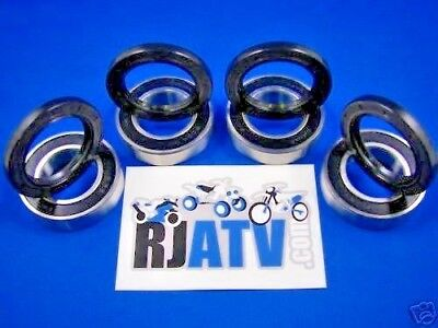 1987-1999 Yamaha Big Bear YFM350FW Front Wheel Bearing and Seal Kit