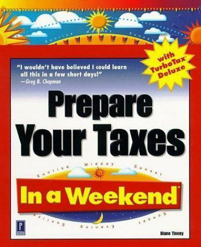 Prepare Your Taxes In a Weekend with TurboTax Deluxe
