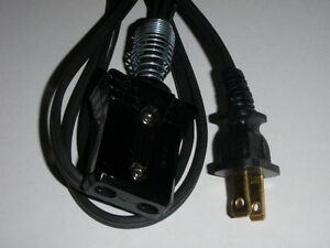 6ft-Power-Cord-for-Vintage-Farberware-Coffee-Percolator-Model-206-3-4-2pin